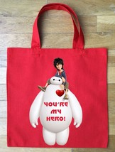 Big Hero 6 Valentine's Day Treat Bag - Personalized - Single or Double S... - $11.30