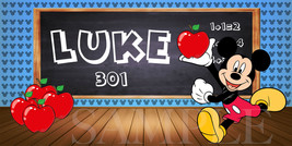 Mickey Mouse Sticker - Personalized and Waterproof for Back to School! - $1.50