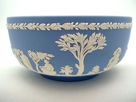 WEDGWOOD JASERWARE SACRIFICE BOWL CREAM WHITE O... - $90.00