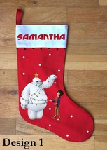 Big Hero 6 Christmas Stocking - Personalized and Hand Made - $29.99