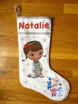 Doc Mcstuffins Christmas Stocking - Personalized and Hand Made - $29.99