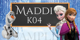 Frozen Sticker - Personalized-and-Waterproof  - $1.50