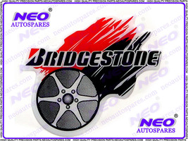 Bridgestone Tire Fairing Motocross Or Swingarm Decal Sticker For Motorcycle &Car - $4.21