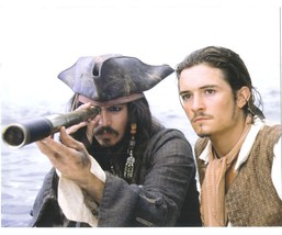 Pirates of the Caribbean John Depp Orlando Bloom Vintage 11X14 Color Mov... - $13.95