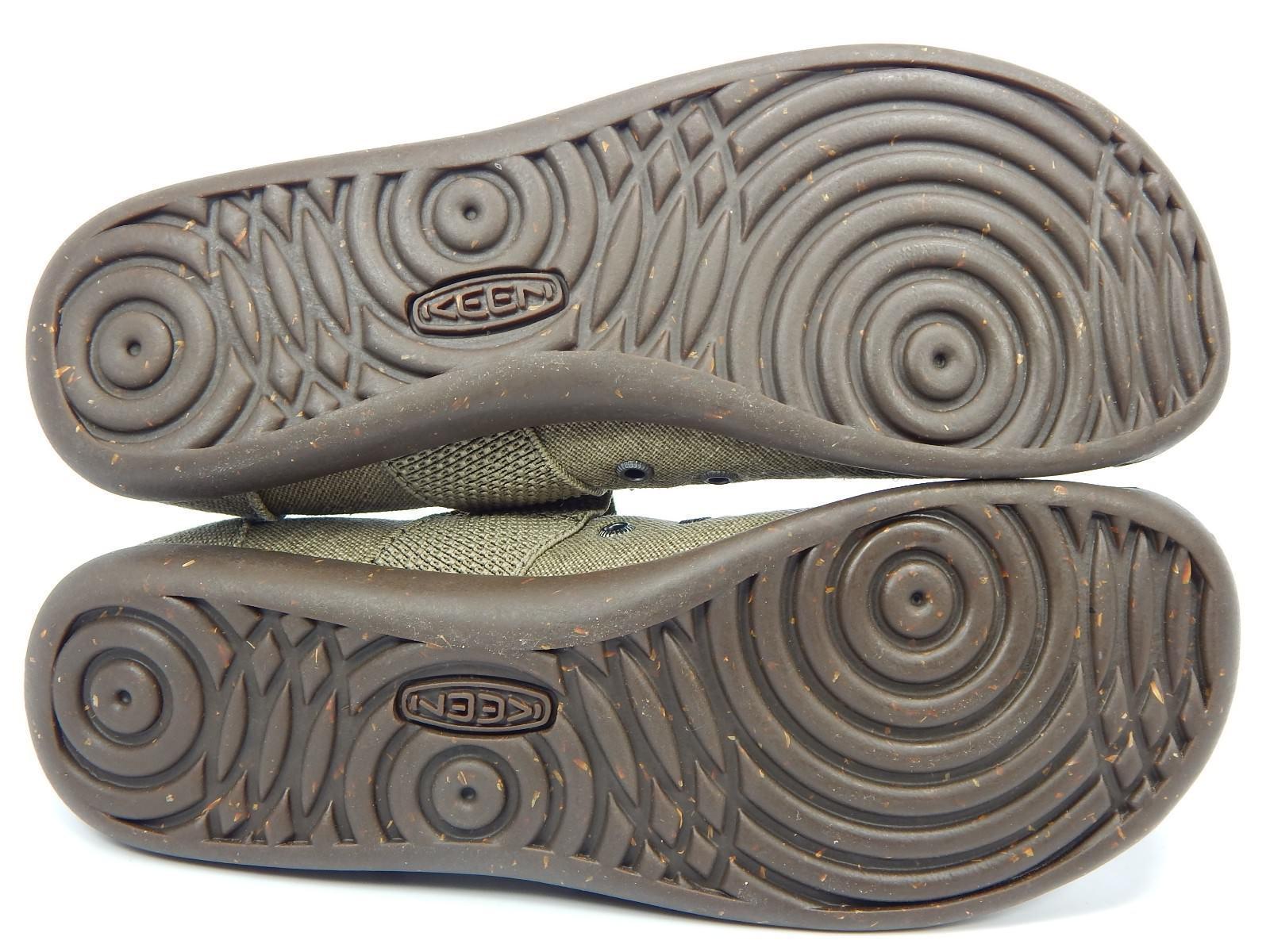 Keen Sienna Mary Jane Size US 8 M (B) EU 38.5 Women's Canvas Shoe Beige 1014217