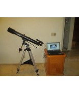 Skytrekker 70 Astrophotography Bundle- 70mm Refractor, RA Motor & 3.0 MP... - $296.90