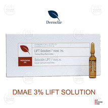 DMAE LIFT SOLUTION 3% DERMCLAR MESOTHERAPY 50ml FLACCID NECK FACE ANTI W... - $114.00