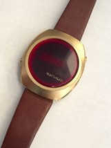 "BENRUS LED DIGITAL VINTAGE MAN'S 1970'S WATCH ""... - $123.75"