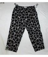 Jones New York Black White Stretch Capris Size adult 10  NWT - $11.99