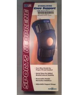 Sports Neoprene SafeTSport Stabilizing Knee Support w/ spiral Stays XS Navy - $19.59