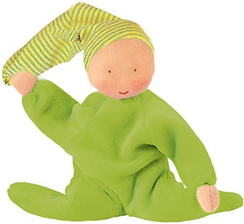 Kathe Kruse Nickibaby Doll, Light Green [Baby Product]