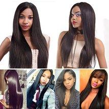 """Mink 8A Brazilian Virgin Hair Straight Remy Human Hair 3 Bundles Deals 12"""" 14"""" 1 image 6"""