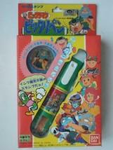 BANDAI Bikkuriman Pen Type Stamp Bikkuri Pen With badge 1987 New Unopend... - $89.99