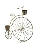 Outdoor Planters, Decorative Outdoor Planters, Old-Fashioned Bicycle Pla... - $59.50