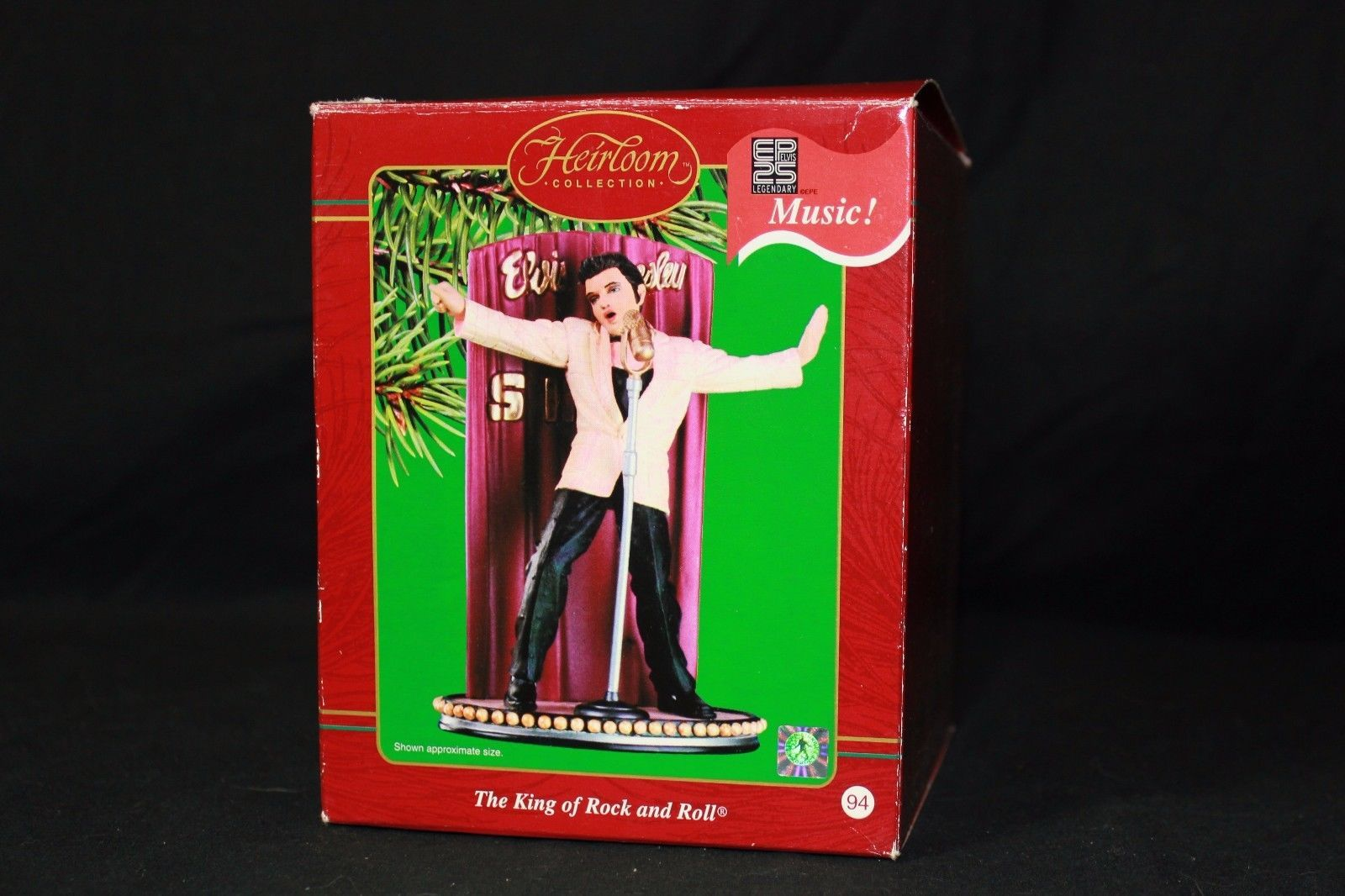 Elvis Presley Carlton Cards King of Rock & and 50 similar items