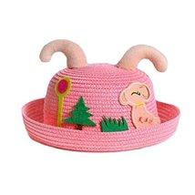 Baby Cap Breathable Hat Round Cap Sunshade Baby Hat Summer Sun Hat