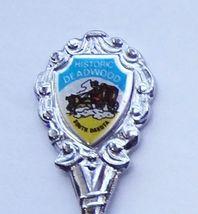 Collector Souvenir Spoon USA South Dakota Deadwood Historic District Sta... - $3.99