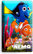 FINDING NEMO CLOWN FISH DORY OCEAN REEF PHONE JACK TELEPHONE WALL PLATE ... - $8.90