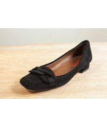 Michael Kors 7 Black Suede Loafer Women's Shoe - $63.09