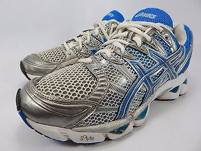 Asics Gel Nimbus 12 Women's Running Shoes Size US 7.5 M (B) EU 39 Silver T095N