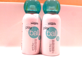 L'Oreal Professionnel Play Ball Anti-Frizz Fizz Spray 150ml x2*  - $31.20