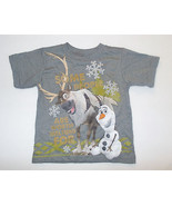 Disney Frozen Toddler Boy T-Shirt Olaf Sven Sizes 2T, 4T NWT - $12.99