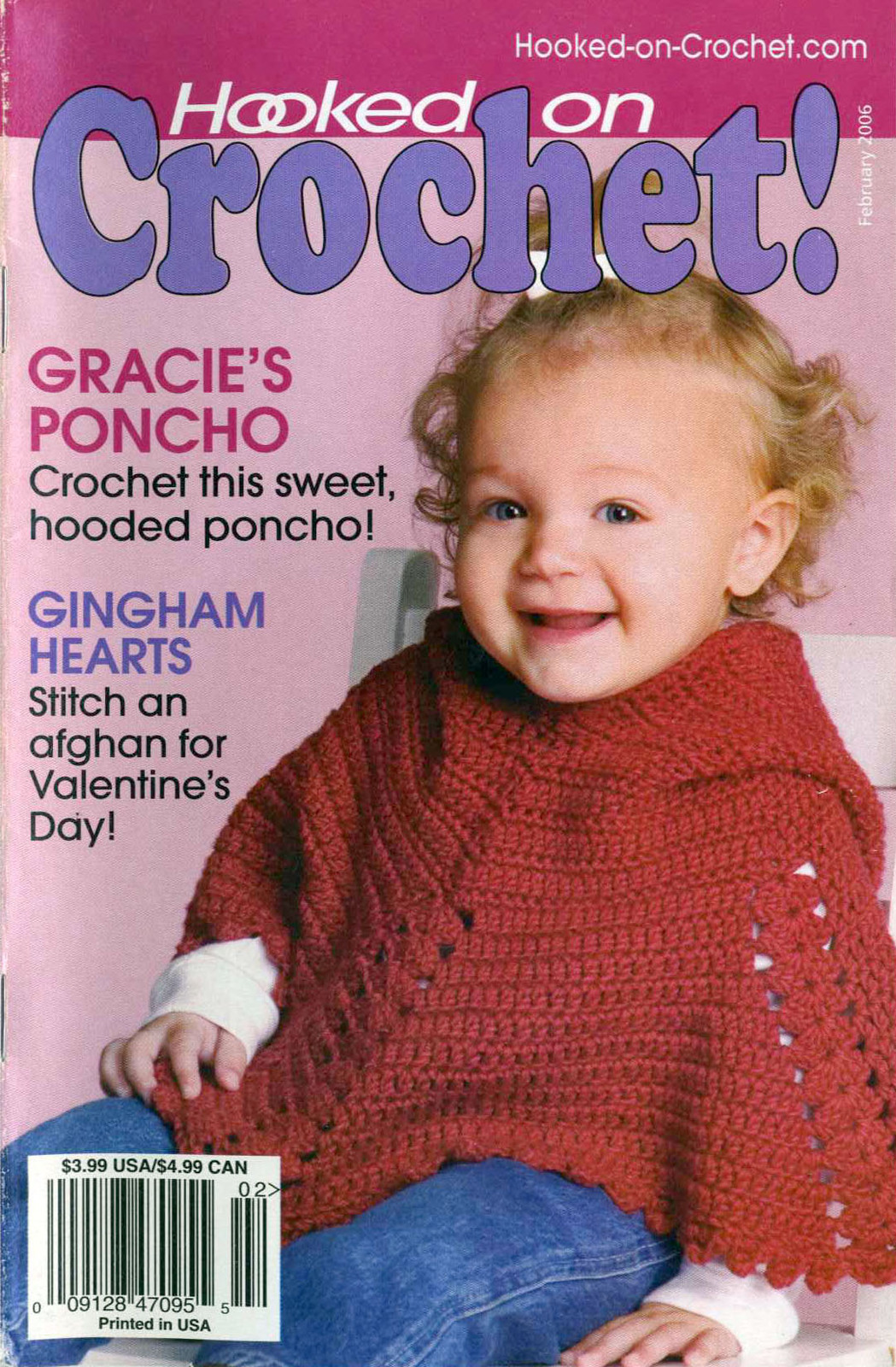 Hooked on Crochet! patterns #115; February 2006