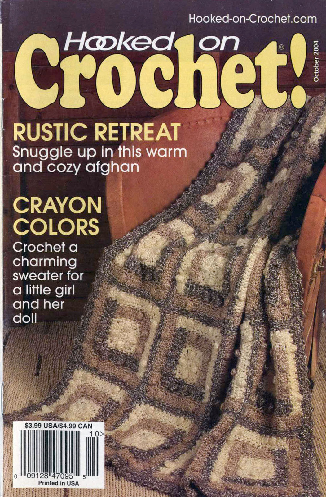 Hooked on Crochet! patterns #107; October 2004