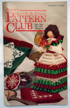 Annie's Quick & Easy Pattern Club patterns #84; December 1993 - January1994 - $4.50