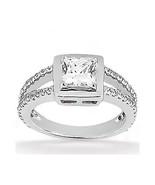 2 Ct. corte princesa anillo de compromiso nuevo... - $3,951.50