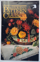 Annie's Quick & Easy Pattern Club patterns #77; October/November 1992 - $3.50