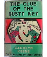 Dana Girls #11 CLUE OF THE RUSTY KEY 1st Print?... - $32.00