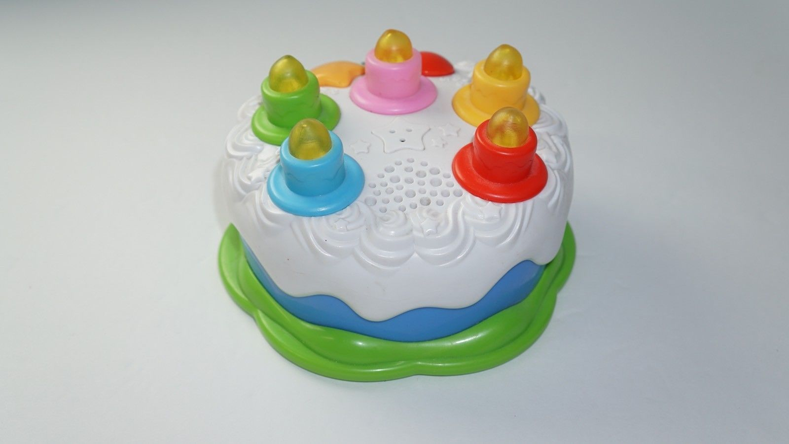 LeapFrog Birthday Cake Counting Candles Musical Light Up Learning Toy