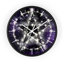 Pentagram pagan, wiccan, wicca Wall clock. - $32.99