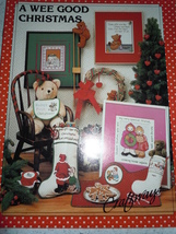 A Wee Good Christmas Craftways Counted Cross Stitch Pattern Booklet - $3.99