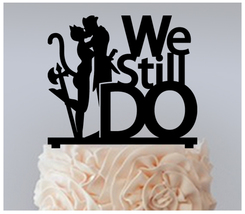 15th Wedding Anniversary Cake topper,Cupcake topper,we still do Package : 11 pcs - $20.00
