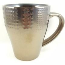 Mikasa Verona Mug Metallic Brown Stoneware 13 oz Gourmet Basics - $13.86