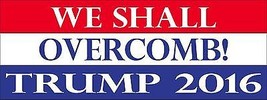 Trump for President Funny 2016 Republican 3x8 Magnet Decal - $6.99