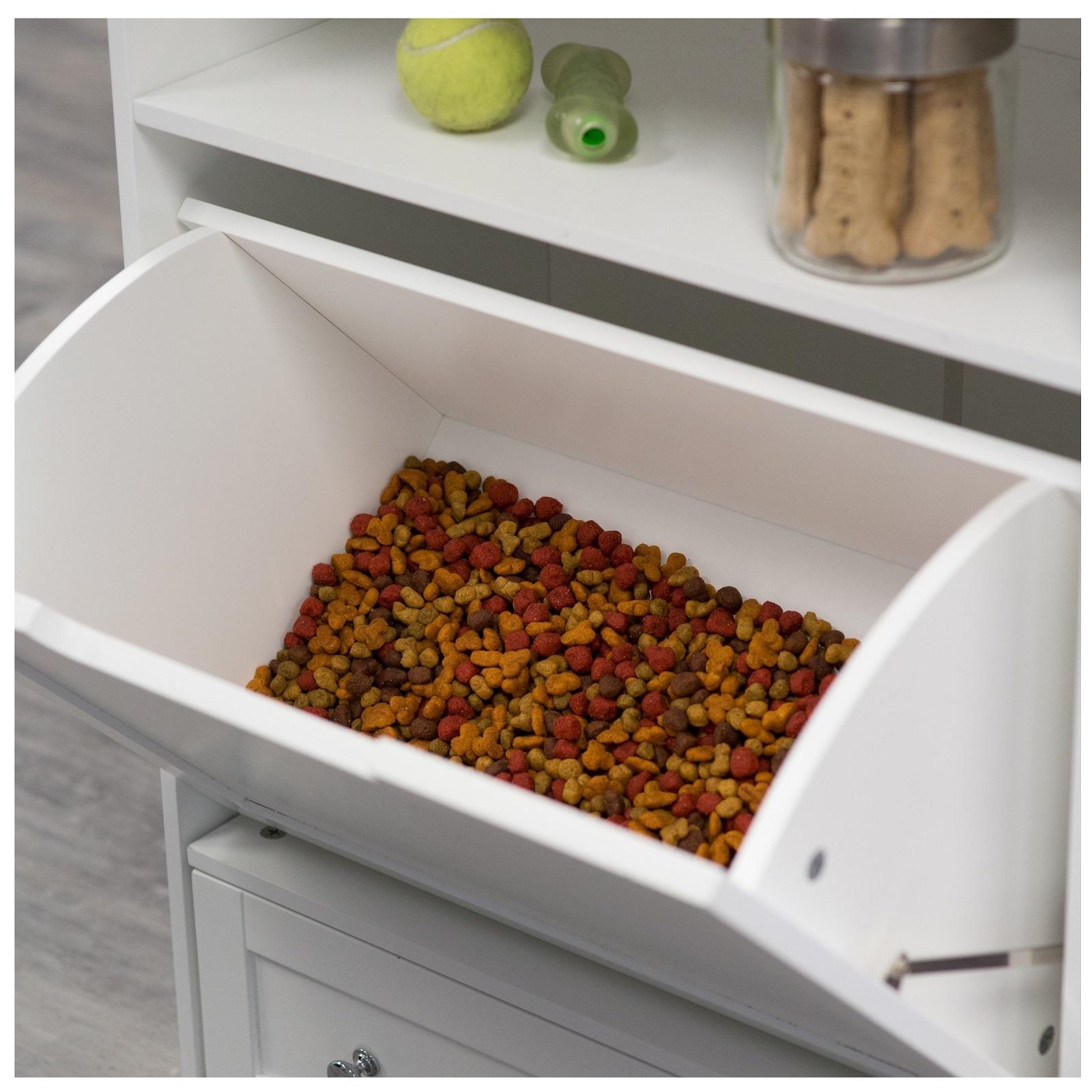 Dog Feeders With Food Storage