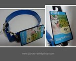 Blue poly coated dog collar collage thumb155 crop
