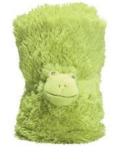 Pickles Mon Ami Frip The Frog Stroller Blanket Nwt Baby Soft Cozy Nursery - $17.99
