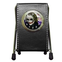 Batman Joker Why So Serious Leather Pen Holder ... - $17.99