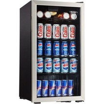 Tempered Glass Stainless Steel Trim Beer / Soda... - $344.64