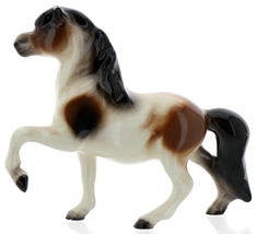 Hagen-Renaker Miniature Ceramic Horse Figurine Calico Pony Leg Up image 8