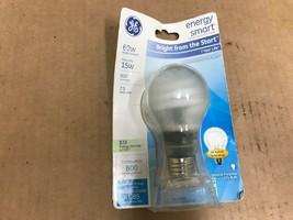 GE Lighting 63503 Energy Smart Bright from the Start CFL 15-Watt Light bulb 1PK - $6.16