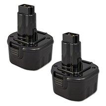2 x ExpertPower 9.6v 2000mAh NiCd Replacement Battery for Dewalt DW9061 DE9036 D - $48.95