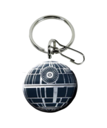 Star Wars Death Star Enamel & Metal Key Chain Keychain Zipper Pull - $8.95