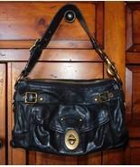 Coach Legacy Black Vachetta Leather Shoulder Bag 11127 - $83.59