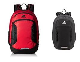 adidas Excel III Backpack, 5143204 Black or 5143151 Scarlet/Black Capaci... - $49.95