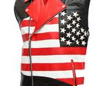 Mens american flag biker leather jacket 2 thumb155 crop